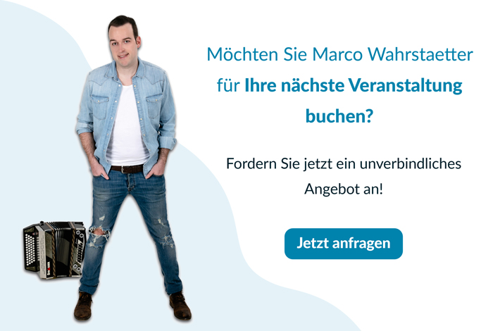 Auftrittsanfrage für Marco Wahrstaetter